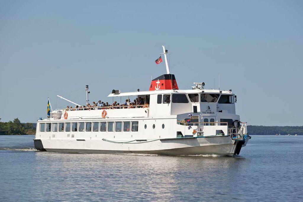 Båten M/S Victoria
