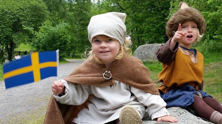 Nationaldagen på Birka Vikingastaden 2017